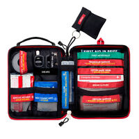 Emergency First Aid Kit Survival Gear Medical Trauma Kit