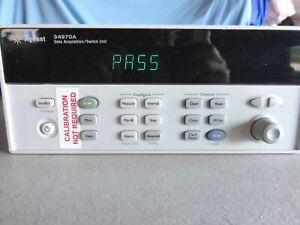 Agilent 34970A Data Acquisition W/34901A Multiplexer + 82357A USB/GBIP Interface