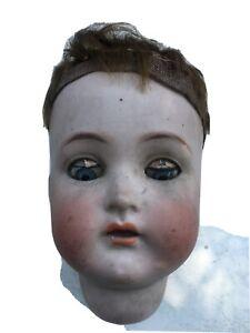 tete poupee ancienne En Porcelaine SIMON Et HALBIG