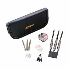Accudart 450 Interchangeable Steel or Soft Tip Dart Set with Case - 18g Darts