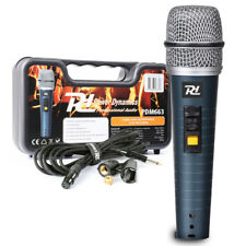 Power Dynamics 173.431 Handheld Microphone with Case & Cable