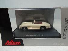 Schuco : Mercedes 300 SL Beige No: 25719  Scale 1:87 RaR