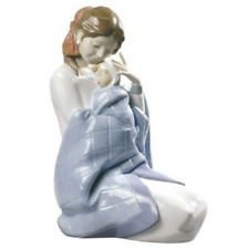 Nao by Lladro Porcelain My Baby Woman & Baby Boy Figurine Ornament 22cm 02000525
