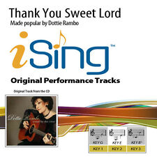 Dottie Rambo - Thank You Sweet Lord - Accompaniment Track