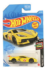 Hot Wheels 2021 HW Race Day 6/10 Yellow Corvette C8.R