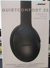 *NEW SEALED* Black Bose QuietComfort 35 QC35 Wireless Bluetooth Headphones 2016