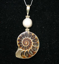 Fossil Sterling Silver pendant