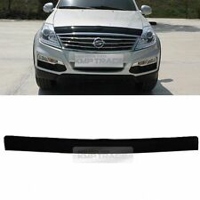 San Front Hood Guard Bug Shield Molding for SSANGYONG 2001-2005 2013-2017 Rexton