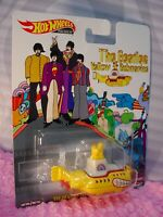 THE BEATLES YELLOW SUBMARINE ☯Real Riders☯ 2019 Hot Wheels Car Culture premium P
