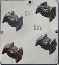 NEW Halloween Vampire Flying BAT Chocolate Candy Plaster Clay Fondant Soap Mold