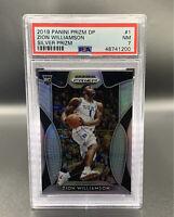 Zion Williamson *PSA 7* RC 2019 Silver Panini Prizm DP #1 New Orleans Pelicans