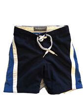 Abercrombie Fitch Mens Board Shorts Swim Trunks Navy Blue  Size 30