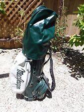 Nice Vintage Macgregor leather green white golf bag n