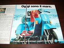 Pubblicità advertising giugno 1983. PIAGGIO VESPA