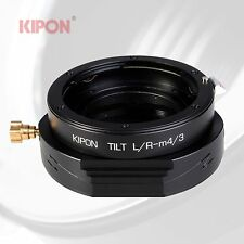New Version Kipon Tilt Adapter for Leica R Lens to Micro Four Thirds M4/3 Camera