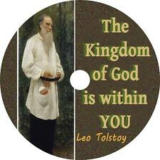 The Kingdom of God is Within You, Leo Tolstoy Christian Audiobook on 1 MP3 CD