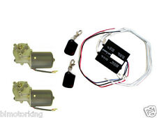 Dual Door Gate Kit Radio Wireless Remote Control + Two PM Gear Motor 12v DC