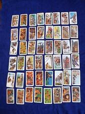 RED ROSE TEA CARDS INDIANS OF CANADA FULL SET OF 48 BROOKE BOND FOODS