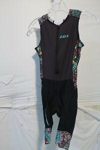 Louis Garneau Women's Pro Carbon Triathlon Suit Expressionist Small Retail $150