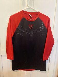Under Armour Baseball Men's 3/4 Sleeve Shirt Small