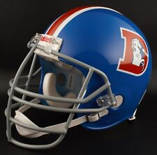 DENVER BRONCOS 1968-1974 NFL Riddell REPLICA Throwback Football Helmet