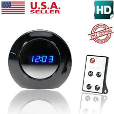 Motion Detect Hidden Alarm Clock HD Camera Spy Camcorder DVR 1280x720 Remot