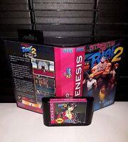 Streets of Rage 2 - Naked Blaze (NSFW) Video Game for Sega Genesis! Cart & Box