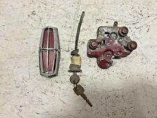 1969 Lincoln Continental Mark III Trunk Lock Emblem Key OEM