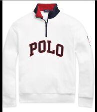 New listing Polo Ralph Lauren Snow Bear Downhill Suicide Ski USA Olympic Fleece Pullover XL