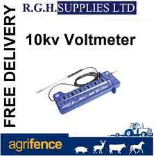 Electric Fence Tester To Measure Fence Current - 10,000V (10KV) - DIY 6 Lights