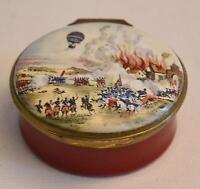 Crummles & Co. English Enamels Battle of Fleurus The Entreprenant Balloon Box