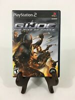 G.I. GI Joe: The Rise of Cobra (Sony PlayStation 2, PS2) Complete