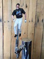 New York Mets Baseball TAP HANDLE MLB Beer Keg Black Jersey Jason Bay