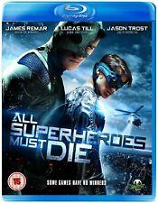 All Superheroes Must Die (Jason Trost, Lucas Till, James Remar) - Blu-ray
