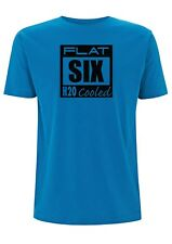 Porsche T shirt Flatsix H20 Cooled 996 3.2 Boxster  water cooled 997 cayman 911