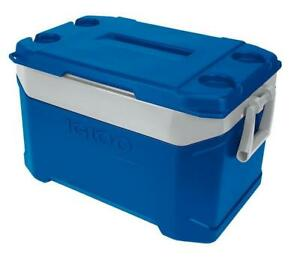 IGLOO LATITUDE 50 ULTRATHERM 47 LITRE COOLER ICE COOL BOX CAMPING FISHING BLUE