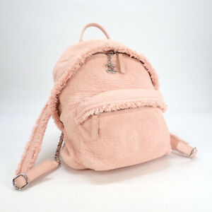 Chanel Dry Evaluation Rank Coco Mark Fringe Backpack As0313 Mixed No.8495
