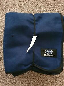 Subaru Outdoor Blanket Navy Blue