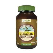 Pure Hawaiian Spirulina 1000mg Tablets 180 Count Nutrex Hawaii 2 month bottle