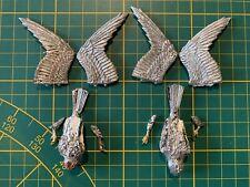 Warhammer Wood Elves Waldelfen 2 Warhawks Kriegsfalken Metal Rare Used OOP