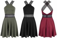 Unbranded Halter Neck Skater Dresses for Women