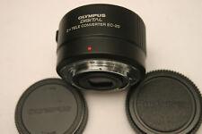 Olympus EC-20 2X téléconvertisseur Lentille. Olympus 4/3 Fit