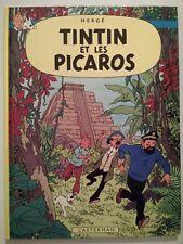 TINTIN ** TOME 23 TINTIN ET LES PICAROS ** EO C1 1976 (24 TRADUCTIONS)  HERGE