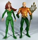 DC+direct++collectibles++NEW+52+SERIES+AQUAMAN+and+MERA+ACTION+FIGURES+loose