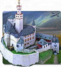 Marksburg 1:160 für Spur N Bastelbogen Prächtiges Kartonmodell J.F. Schreiber