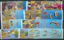 40a-45a** Marshall-inseln Mi Briefmarken Bm 1985 Inselkarten Komplett. Nr