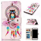 For Apple iPhone Wallet Flip PU Leather Stand Card Case Cover Shockproof Skin