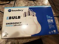 Ebulb Emergency Power Light Bulbs 3 Pack