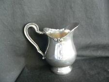 pot à lait en métal argenté belle qualité