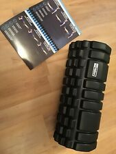 Fit Nation Foam Roller for Muscle Massage With Exercise Book Ultra Lightweight